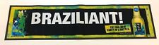 LARGE WKD BRAZILIAN BAR RUNNER - DRINK PUB HOME BAR MAT DRINKS WICKED