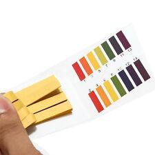 1-14 pH Wert Test Teststreifen Indikatorpapier Strips Wassertest 80 Stück