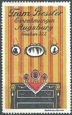 Reklamemarke Franz Bessler Augsburg, Fabrik C.A. Nicolaus Bremen (#26163)