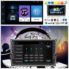 2 DIN 8inch Ultra Thin Car Stereo Radio GPS Navi BT WiFi 3G 4G DAB w/Knob Button