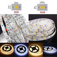 1M-10M Waterproof 3528 5630 5M 300SMD LED Flexible Strip Light Cool/Warm White