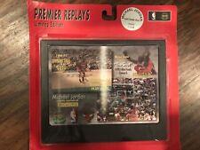 "MICHAEL JORDAN Limited Edition Upper Deck Premier Replays ""The Shot"" #556of1,998"