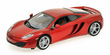 MINICHAMPS 2011 MCLAREN MP4-12C METALLIC RED LE 750pcs 1:18**New Item**