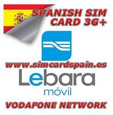 Lebara movil prepago PAYG español 3G tarjeta sim datos de Internet para España