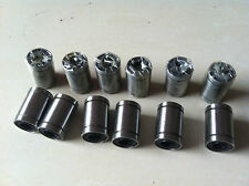 12PCS LM8UU 8mm 8x15x24mm Linear Ball Bearing Bush Bushing 8mmx15mmx24mm