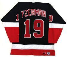 STEVE YZERMAN DETROIT RED WINGS PRO PLAYER JERSEY BLACK SIZE XL