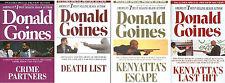 DONALD GOINES Complete Urban Fiction Kenyatta Series Collection 1-4!