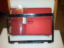 New  Dell Red Inspiron 1545 Lcd Back Cover J456m with M685J Bezel with hinges