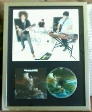 WOLFMOTHER - SIGNED ×3. FRAMED DISPLAY. AUSTRALIAN ROCK BAND. (TRACK ATTACK COA)