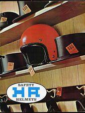 Vintage 1966 Japan H-A Helmet Catalog Motorcycle Isle of Man Hot Rod T.R.O.G.