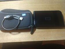 Western Digital WD1600U017 portable external hard drive160GB