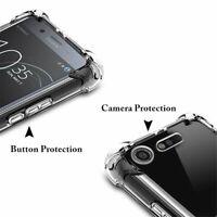 New Clear Shockproof Case For Sony Experia Xperia L1 L2 XZ XZ1 XA1 XA2 X XZ3