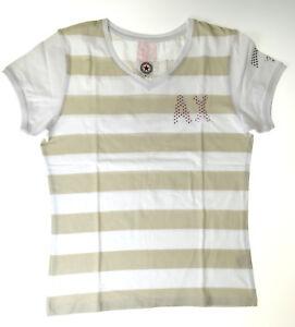 Airforce T-Shirt  XL 176 Mädchen Sterne  Neu