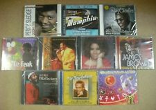 10 SOUL / R&B  CD ASSORTMENT LOT - NEW