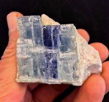 Blue Kyanite Crystal in Feldspar Matrix from North Carolina