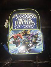 TEENAGE MUTANT NINJA TURTLES TMNT OUT OF THE SHADOWS LARGE BACK PACK SCHOOL BAG