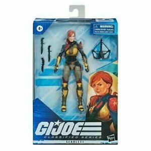 Hasbro - G.I. Joe - Classified Series 05 - Scarlett Field Variant/Redeco NIB