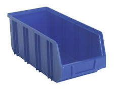 Sealey TPS3D Rangement Plastique Poubelle Profond 145 X 335 X 125mm Bleu Pack de