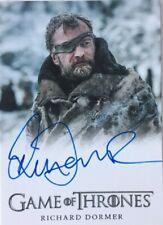 Richard Dormer Autograph as Ser Beric Dondarrion, Game of Thrones Season 8