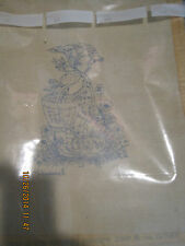 VINTAGE NEEDLEPOINT CANVAS HUMMEL #0232 LITTLE GIRL DUTCH GERMAN 1975 CHART