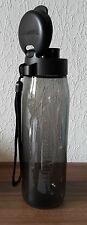 Neu Eco-Fresh EcoEasy Sportfreund Flasche Trinkflasche 750ml schwarz Tupperware