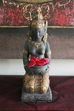 NEW Balinese Resin Dewi Sri Indoor Sculpture / Asian Inspired Home Decor