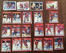 MONTREAL CANADIENS .1991 Score Bilingual. 34 card lot. GUY LAFLEUR. PATRICK ROY