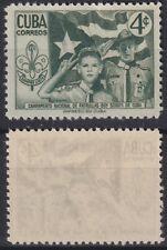 1954-233 SPAIN ANTILLES MNH 1954 Ed.605 BOYS SCOUTS PERFECT MNH.