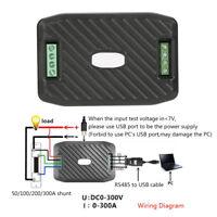 PEACEFAIR DC Voltage Current Power Energy Consumption Meter + RS485 + Shunt