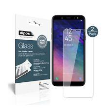 2x Samsung Galaxy A6 Schutzfolie - Panzerfolie 9H Folie dipos Glass