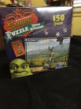 Donkey Shrek with Extra's 150 Pieces Puzzle DreamWorks  New Factory Sealed