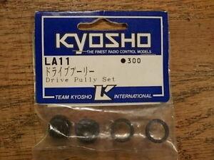 LA-11 Drive Pulley Set - Kyosho Lazer ZX Lazer ZX-R Lazer ZX-RR