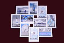 Bilderrahmen weiß - Multirahmen 10 Bilder 10x15 cm - Foto Galerie Collage Rahmen