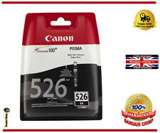 CANON CLI-526 Black Ink Cartridge  printer ink genuine . New (sealed)