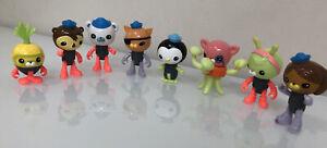 Octonauts Octo-Glow Crew Pack / Lot Of 8 Tunip Tweak Peso Inkling Kwazzi Dashi +