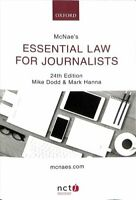 McNae's Essential Law for Journalists by Mike Dodd 9780198809579 | Brand New