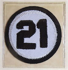 1973 PITTSBURGH PIRATES Lost Treasures ROBERTO CLEMENTE 21 PATCH Willabee & Ward