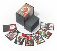 Club Nintendo Mario Hanafuda Cards hanahuda mario nes snes black NEW