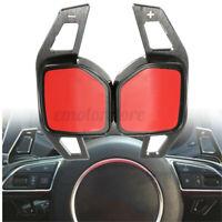 2x Extension Palette Volant Aluminium Plastique pour Audi A1 A3 A6 A8 Q5 Q7 TTR8