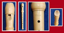 Ralf Schneider Sopran flute allemande poignée façon d'érable normal enregistrés