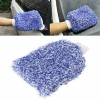 Soft Microfiber Wash Mitt Car Washing Glove High Density Cleaning Plush