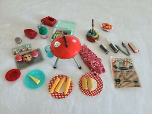 Our Generation American Girl Doll Barn Dance BBQ Horseshoe Food & Baking cupcake