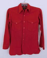 New listing Vintage 1930s 30s Pendleton Mens Red Wool ShirtS