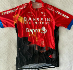 """BAHRAIN VICTORIOUS TEAM CYCLING JERSEY XL NEW 42"""" FREE SHIPPING !!"""