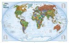 World Explorer [Laminated] (Sheet Map, Rolled)