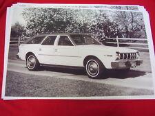 1975 AMC RAMBLER HORNET SPORTABOUT    BIG 11 X 17  PHOTO /  PICTURE