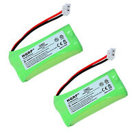 2-Pack HQRP Battery for VTech DS6121-3, DS6121-4, DS6121-5, 6043