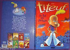 ZEP ¤ TITEUF n°9  ¤ LA LOI DU PREAU ¤ 03/2003 GLENAT