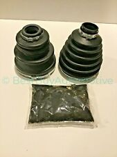 Mitsubishi Montero Sport CV Axle Inner & Outer Boots-1997-2004 Front 4WD-GREASE