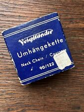 Voigtlander Neck Chain 90/122 - Made In Germany - Vintage Camera Strap - In Box